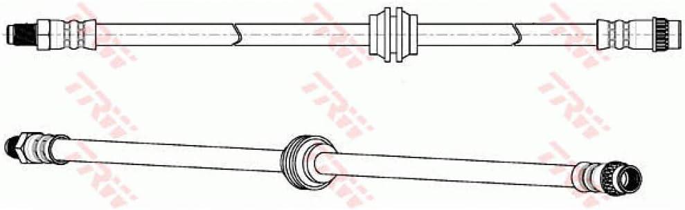 TRW PHB900/flexibel Bremssattel