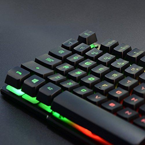 51VWO7yiLwL - Rainbow Keyboard LED