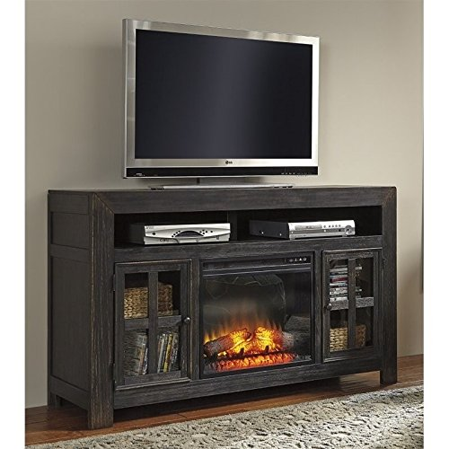 ashley-gavelston-60-tv-stand-with-led-fireplace-in-weathered-black