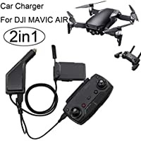 DZT1968 2 in1 USB Car Charger Single Electric Multifunction Battery Charger For DJI Mavic Air Drone