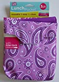 Cool Gear Lunch Pocket - Pack of Three - Purple/Pink
