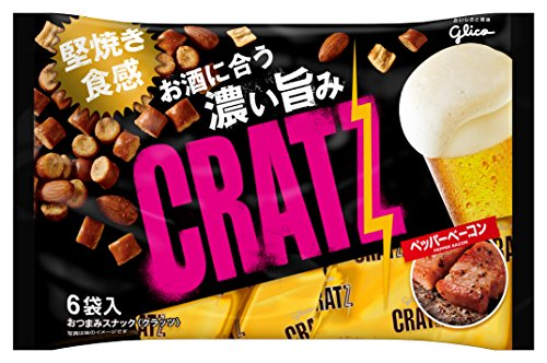 Glico Japan Cratz pepper bacon for beer (6 bags) 102g x 8 pieces (Chocolate Covered Bacon Delivery)