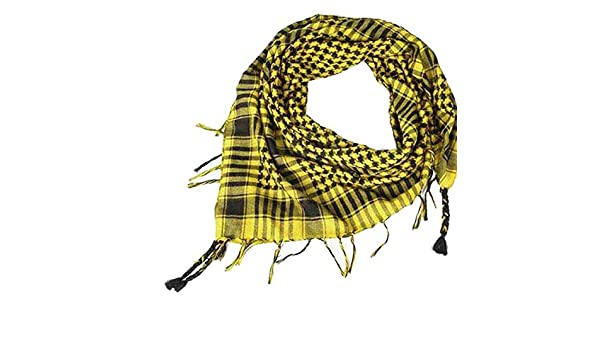 Bufanda Mujer Invierno Unisexo Bufanda /árabe de Shemagh Keffiyeh Palestina para Hombre Bufandas del Mant/ón Holatee