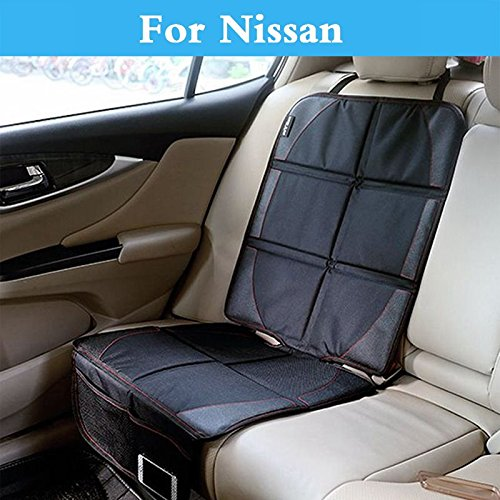 Chenghuaguo Antislip auto Seat Cover Under Baby Safty Mat Protection for Nissan Maxima Micra Moco Murano Note Fairlady Z Figaro Fuga Leaf -