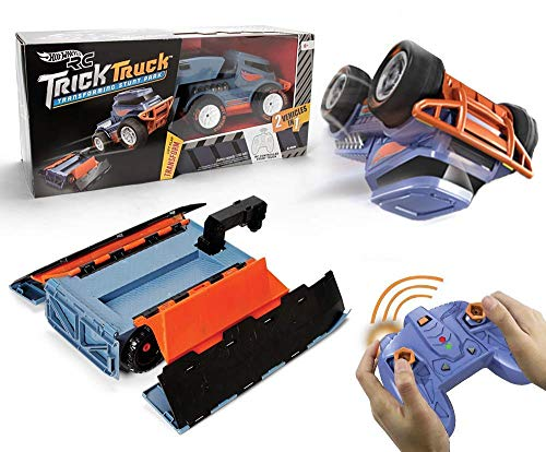 Hot Wheels R/c Trick Truck Transforming Stunt Park Vehicle ()