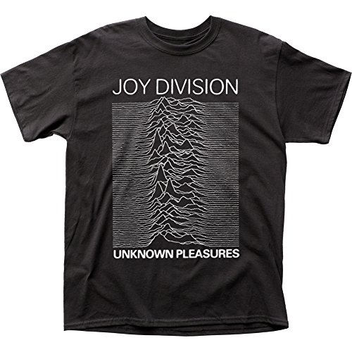 Impact Joy Division Men's Unknown Pleasures T-Shirt XXX-Large Black
