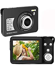 $34 » Digital Camera30 Mega Pixels Student Camera Mini Camera 2.7 Inch HD 1080P Camera with 8X Digital Zoom Compact Camera
