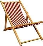 Harbour Housewares Garden Deck Chair...