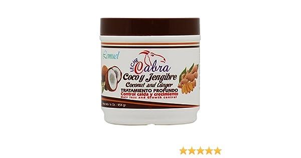 Amazon.com : Lemuel Leche Cabra Coconut and Ginger Treatment 16oz : Beauty