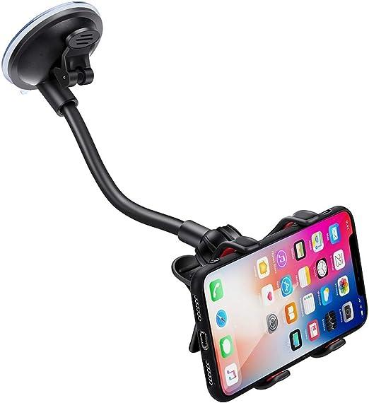 PInerxuz - Soporte para teléfono del Coche, 360 Grados Flexible ...