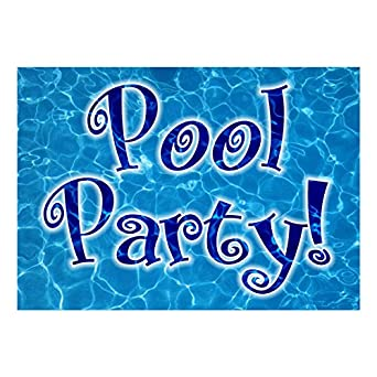 amazon co jp kids birthday invitations swimming pool party