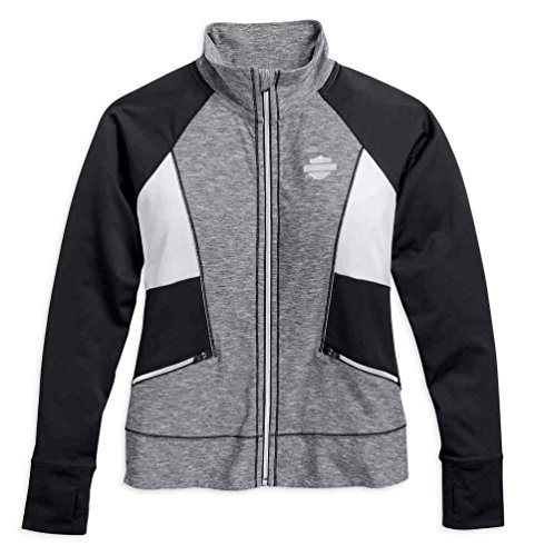 Harley-Davidson Women's Performance Infrared Activewear Jacket 96066-17VW (Harley Womens Activewear)