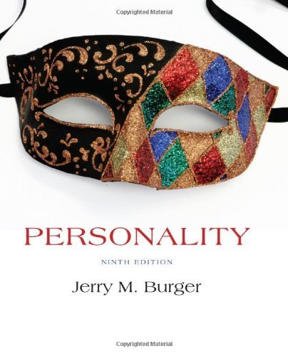 Personality by Burger, Jerry M. [Cengage Learning, 2014] ( Hardcover ) 9th edition [Hardcover]