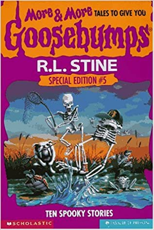 More more tales to give you goosebumps ten spooky stories more more tales to give you goosebumps ten spooky stories special edition no 5 r l stine 9780590237956 amazon books fandeluxe Gallery