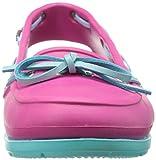crocs Women's Beach Line Boat Shoe, Candy