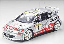#24236 Tamiya Peugeot 206 WRC 2001 1/24 Scale Plastic Model Kit,Needs Assembly by Tamiya