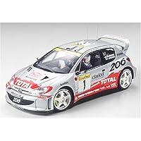 # 24236 Tamiya Peugeot 206 WRC 2001 1/24 escala modelo plástico Kit, asamblea de necesidades