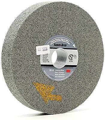 Silicon Carbide,6000 rpm EXL Deburring Wheel 1 Ar Scotch-Brite 6 Diameter TM
