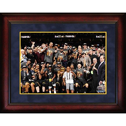 Steiner Sports NBA Cleveland Cavaliers Unisex 2016 NBA Champion Cleveland Cavaliers 16x20 Framed Photo, Navy by Steiner Sports