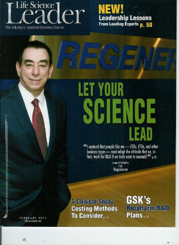 Life Science Leader  The Industrys Essential Business Source  February 2011  Argen X  Finding The Key To Biopharma Start Up Let Your Science Lead  Leonard Schleifer  Ceo Regneneron