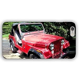 Jeep CJ7 Wrangler Classic Car Off Road iPhone 6 Plus Slim Phone Case
