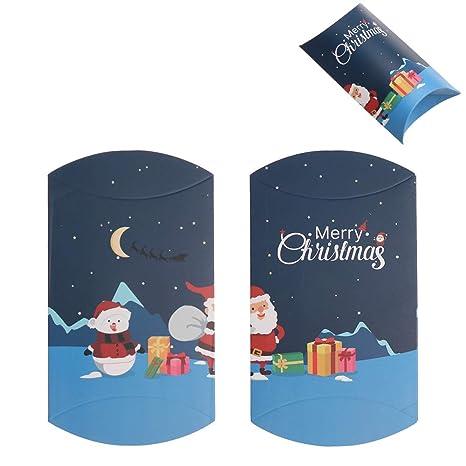 Forma de Navidad Almohada la Caja del Caramelo del árbol de ...