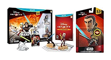 Disney Infinity 3.0 Edition Star Wars Starter Pack Bundle Wii U