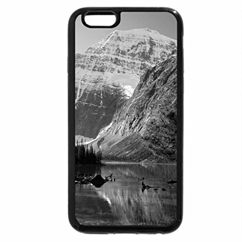 iPhone 6S Case, iPhone 6 Case (Black & White) - Crystal River