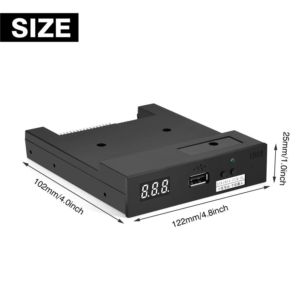 USB Floppy Drive Emulator SFR1M44-FUM-DL 3.5 USB 1.44MB Floppy Drive Emulator for Industrial Control Equipment