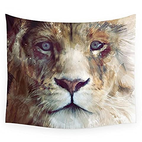Society6 Lion // Majesty Wall Tapestry Large: 88