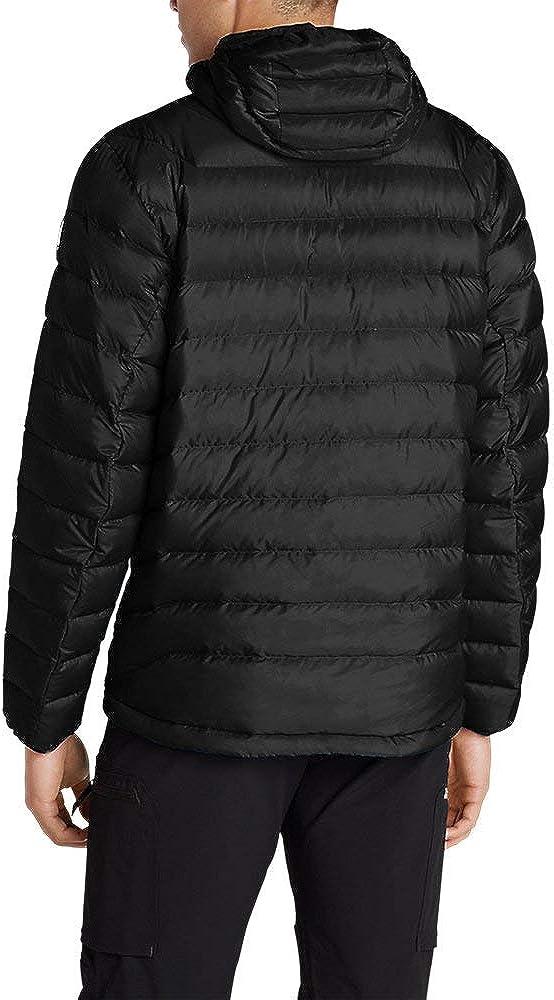Eddie Bauer Mens Downlight Hooded Jacket