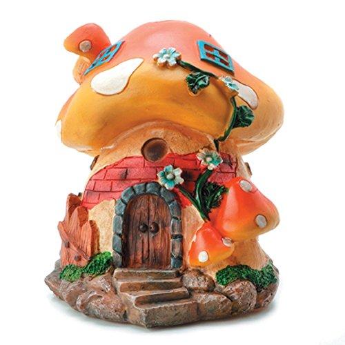 Mushroom Garden Building Figurine Decoration