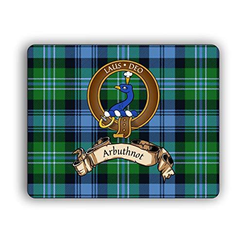 Alison Scottish Clan Tartan Crest Computer Mouse Pad