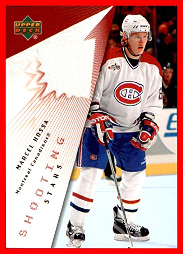 2003-04 Upper Deck Shooting Stars GAME USED JERSEY #STMH Marcel Hossa MONTREAL CANADIENS
