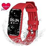 Fitness Tracker Watch, QIMAOO K1 Fitness Activity Tracker Smart Bracelet Pedometer with Sleep