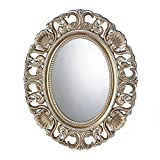 Cheap Koehler Home Decorative Gilded Oval Wall Mirror