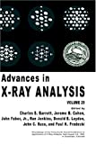Advances in X-Ray Analysis, , 0306422875