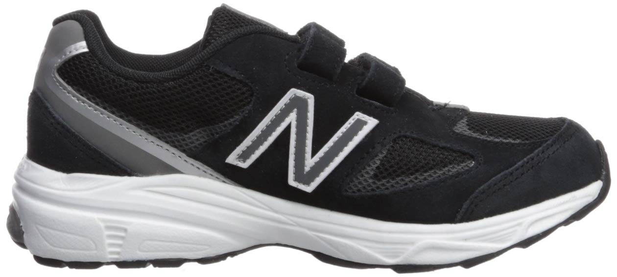 New Balance Boys' 888v2 Hook and Loop Running Shoe, Black/Grey, 2 XW US Infant by New Balance (Image #7)