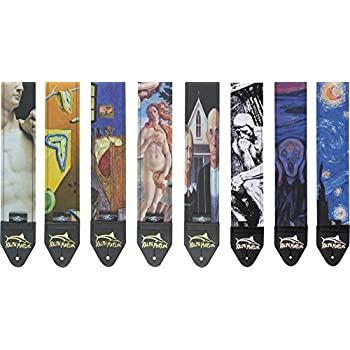 Ralph Marlin Artisitc Guitar Straps Scream