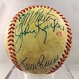 1970's Pete Rose Signed Multi Signed National League Feeney Baseball