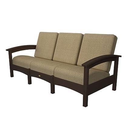 Amazon.com : Trex Outdoor Rockport Club Sofa Color: Vintage ...
