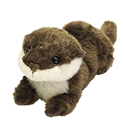 Fluffies Stuffed Toy S Otter: Toys & Games