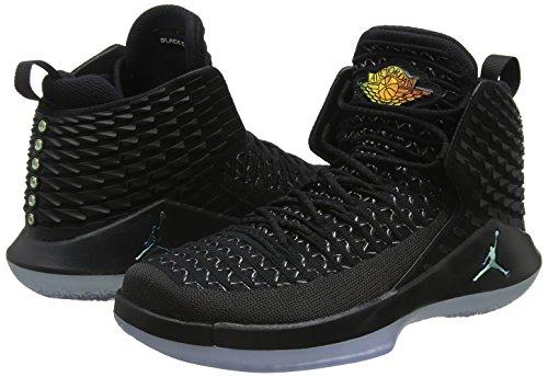 color Bg Basket Jordan black Air Nike multi metallic Nero Scarpe Da 003 Silver Bambino Xxxii xYwPntCq