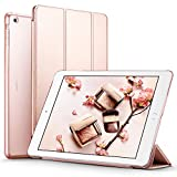 ipad air model number - ESR iPad Air Case, Smart Case Cover [Synthetic Leather] Translucent Frosted Back Magnetic Cover with Auto Sleep/Wake Function [Light Weight] for iPad 5 (Rose Gold)