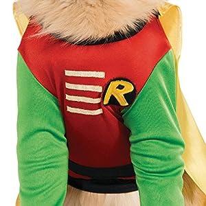DC Comics Teen Titans Pet Costume, Small, Robin