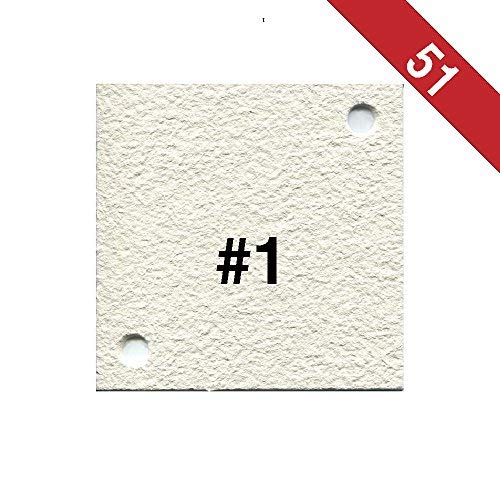 Buon Vino Super Jet Filter Pads, 8.0 Micron (#1) White (Pack of 51) by Buon Vino (Image #1)