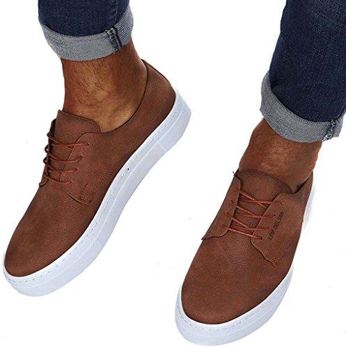 LEIF Sneaker LN153 uomo NELSON Marrone n6nvr8xU