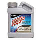 AL-NEW Aluminum Restoration Solution | Clean + Restore + Shine + Polish Garage Doors, Window Frames, Patio Furniture, and Stainless Steel (16 oz.)