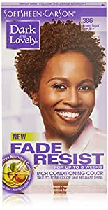 SoftSheen-Carson Dark and Lovely Fade Resist Rich Conditioning Color, Brown Sugar 386