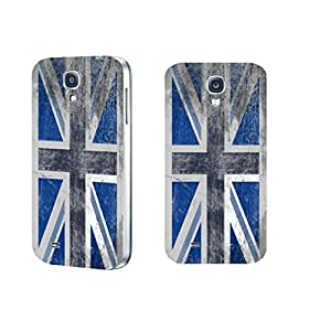 Samsung Galaxy S4 Vintage Uk Glag Shabby Chic Pattern Hard Plastic Cell Phone Case Cover